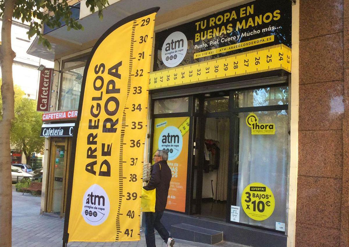 la compra auténtico rendimiento superior en pies tiros de ATM Arreglos de Ropa – Boutique de Arreglos de Ropa en Madrid