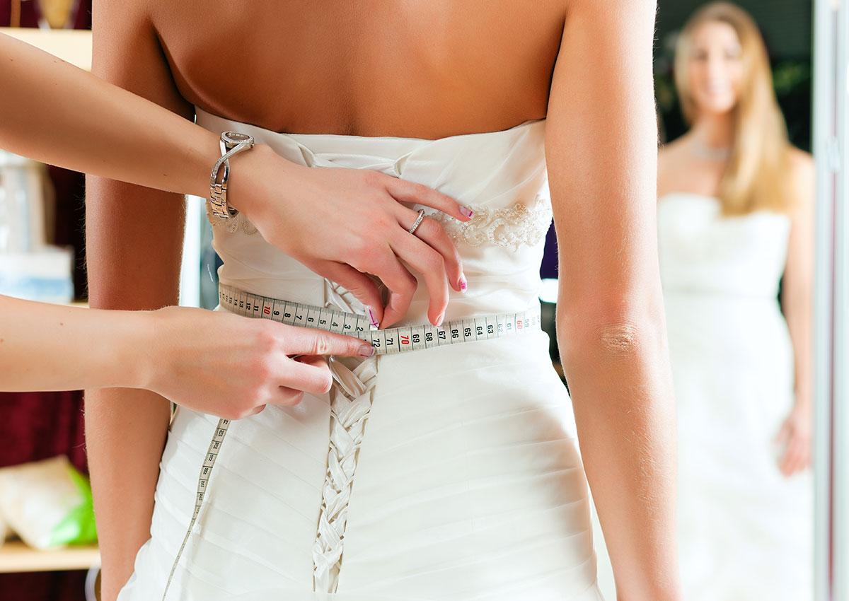Arreglo de vestidos de fiesta
